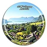 Weekino St.Wolfgang Österreich Kühlschrankmagnet 3D Kristallglas Tourist City Travel Souvenir Collection Geschenk Starke Kühlschrank Aufkleber