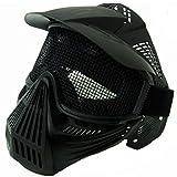 Royal Masque à filet Predator noir pour Airsoft