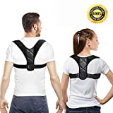 Posture Corrector Adjustable Back Corrector Posture Brace Belt Fits Teens Children Men