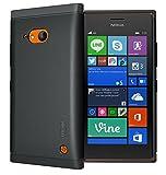 TUDIA LITE TPU Schutzhülle Nokia Lumia 730 Ultra Slim Hülle (Schwarz)