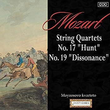 """Mozart: String Quartets Nos. 17, """"Hunt"""" and 19, """"Dissonance"""""""
