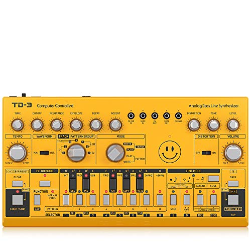 Great Features Of Behringer Synthesizer (TD-3-AM)