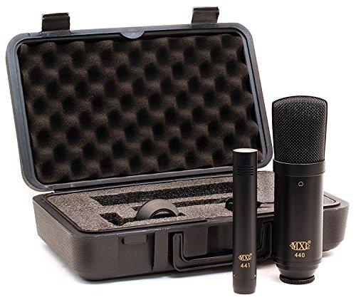 MXL 440/441 micrófono que sigue de grabación