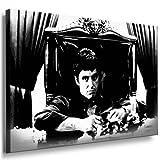 Scarface - Al Pacino Leinwand Bild 100x70cm k. Poster !