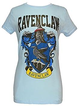 Harry Potter Ravenclaw House Juniors Blue T-Shirt  Glitter Blue XX-Large