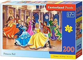 Castorland Princess Ball B-222018, Multi-Colour, 200 Pieces