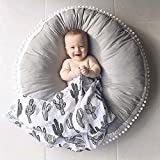 Kids Floor Pillow Cushion Seating Round Large Floor Cushion Oversized Circle Pillow for Re...