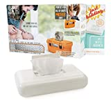 TuffWipes: That Girl Gifts Baby Wet Wipe Warmer – Portable - White