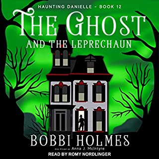 The Ghost and the Leprechaun audiobook cover art