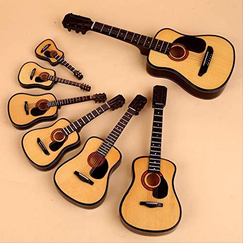 bolin Mini Instrumento Musical Modelo De Abedul Azul Guitarra Clásica Modelo Péndulo Péndulo A Los Profesores Y Estudiantes De La Escuela