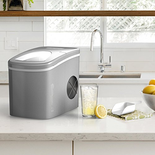 homeLabs countertop Ice Maker Machine