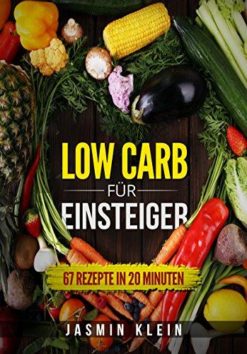 Low Carb für Einsteiger: 67 Rezepte in 20 Minuten (Low Carb für Faule, schnelle Küche, Low Carb Kochbuch, gesund abnehmen, Rezepte ohne Kohlenhydrate)