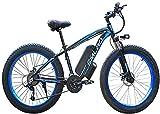 ZJZ Las bicis eléctricas de Las bicis eléctricas de 26 Pulgadas, Viaje de Ciclo al Aire Libre de 48V 1000W resuelven al Adulto