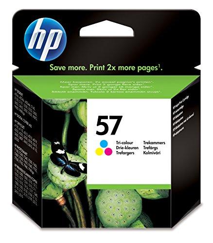 HP Inc. 57, C/M/Y, 17 ml, Seiten: 500, hohe Kapazität, 1578833 (Seiten: 500, Blisterpackung)