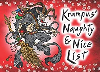 Krampus' Naughty & Nice List: A Krampus Notebook, Journal, or Gag Diary for Santa of Tracking Kids Behavior Before the Christmas Holiday
