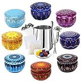 TWBEST Kit de fabricación de velas, Kit de Fabricación de Cera para Principiantes, Kit para Hacer Velas, Accesorios para Hacer Velas de Bricolaje, Regalo para Velas perfumadas, Mecha