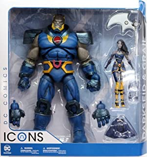 DC collectibles DC Comics Icons 6 inches Deluxe Action Figure 2 Pack dark side and Grail (Dark Side War) / DC COLLECTIBLES DC COMICS ICONS DARKSEID & GRAIL [parallel import goods]