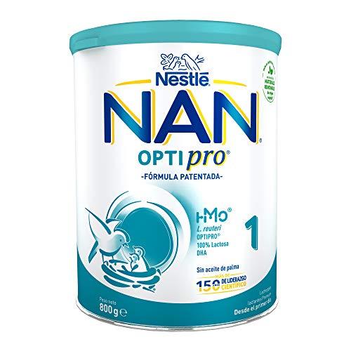 Nan Optipro 1 Leche para Lactantes en Polvo Fórmula para Bebé Desde El Primer Día, 800g