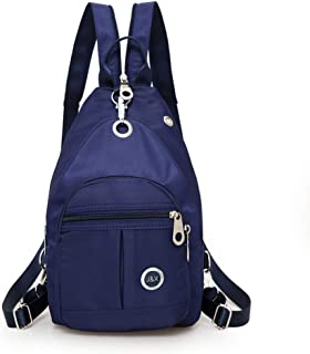 Mini Shoulder Backpack Waterproof Crossbody Sling Bag Small Daypack Casual Backpack Lightweight Purple Traveling Bag Anti Theft Backpack Book Bag for Women Girl