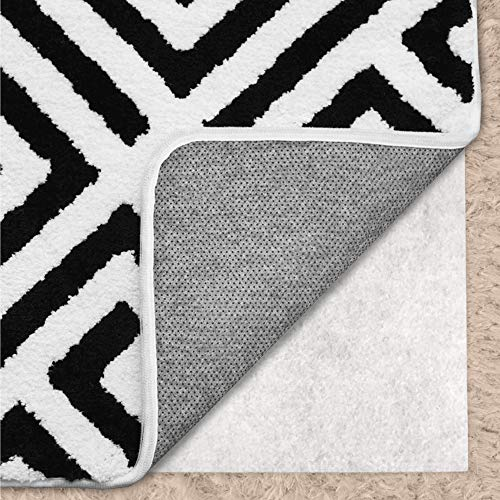 Gorilla Grip Original Area Rug Gripper Pad for Carpeted Floors Made in USA 2 FT x 3 FT Helps Reduce Shifting and Bunching Pads Provide Thick Cushion Under Rugs Over Carpet
