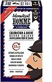 Blondépil Homme Coloration A Barbe Brun Naturel Barbe/Moustache Kit 3 Utilisations