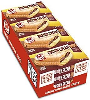 JJs Bakery Duos Boston Cream Pie -- 48 per case.