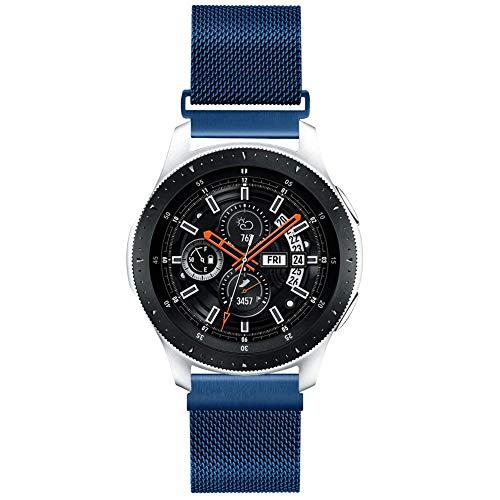 Vodtian Correa reloj de malla de acero inoxidable 22mm, cierre rápido, para Samsung Galaxy 46mm, Gear S3 Frontier/Classic, Fossil Gen 5, hombre Gen 4, mujer Gen 4, Huawei GT 2, pulsera deportiva