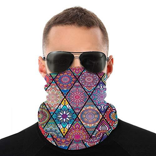 Scarv Kids - Pañuelo multifuncional para el tratamiento facial, bandana, unisex, estampado 3D, funda de tela para la nariz y la boca, lavable al aire libre, con diseño 1 Talla única