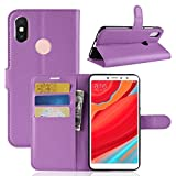 Vicstar Xiaomi Redmi S2 Case, PU Leather Case Wallet Flip