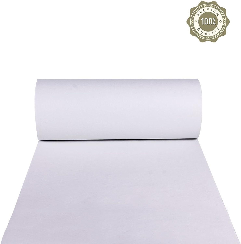 la red entera más baja Zheng Hui Shop Shop Shop Alfombras y Alfombrillas Alfombra Alfombra blancoa para la exposición Alfombra para la casa Alfombra para la Escalera Alfombra desechable (Color   blancoo, Talla   1  10m)  exclusivo