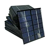 Sunnytech 1pc 2w 6v 330ma Mini Solar Panel Module DIY Polysilicon Solar Epoxy Cell Charger B031