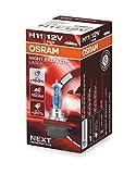 OSRAM NIGHT BREAKER LASER H11, Gen 2, +150% más luz, bombilla H11 para faros delanteros, 64211NL, 12V, estuche plegable (1 lámpara)