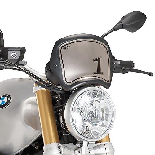 Windschild Sport für BMW R NineT 14-19 schwarz matt Puig 9167j
