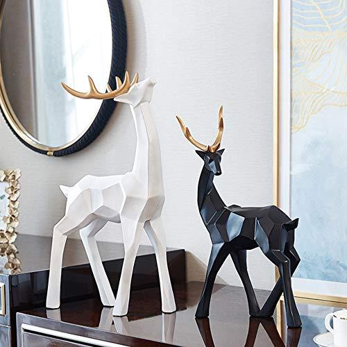 De enige goede kwaliteit Meubels Moderne Minimalistische Scandinavische Gift TV Kast Paar Elk Een Paar van Kunst Home Decoraties Ornamenten 2 Stukken