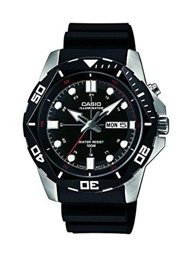 Casio Reloj para Hombre de Cuarzo con Correa en Resina MTD-1080-1AVEF