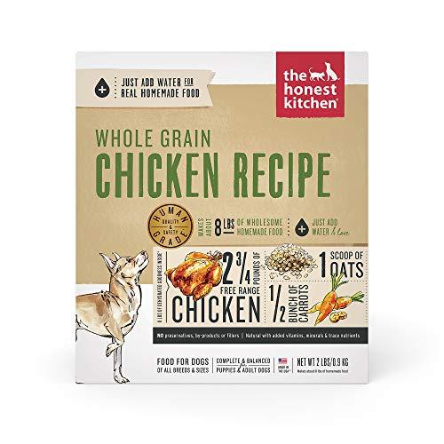 The Honest Kitchen Human Grade Dehydrated Organic Grain Chicken Dog Food 2 lb - Reve