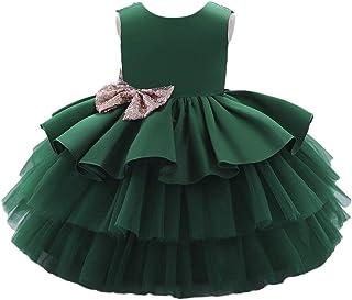 BestGift Infantil Flower Dress For Girls 1st Birthday Party Wedding Lace Tutu Girl Dress Baby Girl Princess Vestido Christ...