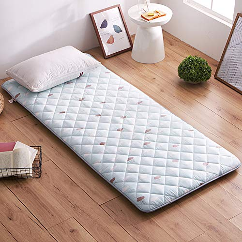 Tensism Tatami Bed/Mattress,Floor Futon/Mattress,Japanese Futon, Anti-Slip Folding/Mat,Single Double Floor Mat-f 120x200cm(47x79inch)