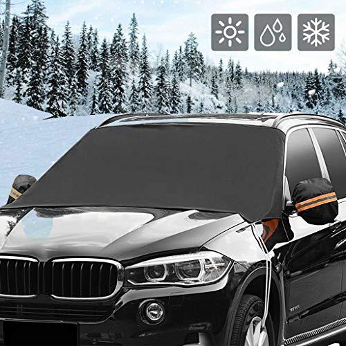 Auto Voorruit Sneeuw Cover Magnetische Waterdichte Auto IJs Frost Zonnescherm Beschermer A
