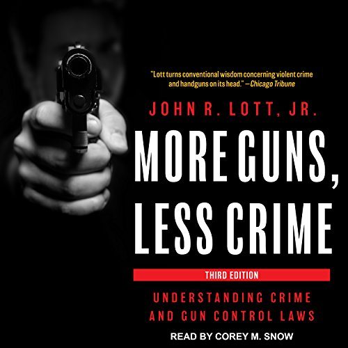 More Guns, Less Crime audiobook cover art