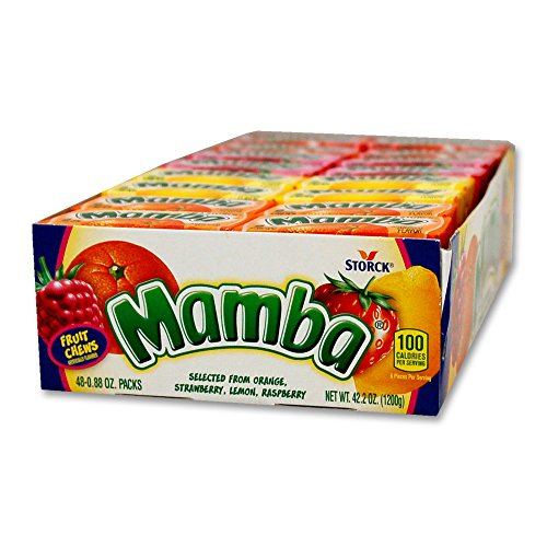 Mamba Fruit Masticables 48-0.88 oz paquetes