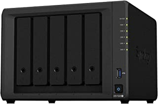 "Synology DiskStation DS1520+ 5-Bay 3.5"""" Diskless 4xGbE NAS (Tower), Intel Celeron J4125 4-core 2.0GHz,8GB RAM,2 x USB3, 2..."