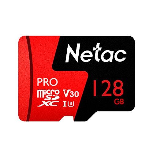 Cartão Memória MicroSD 128GB Extreme Pro Netac
