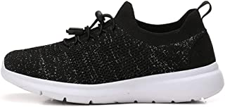 SKLT Ultra Light Women Running Shoes Glitter Mesh Sock Shoes Slip On Sneakers Female Trainers Breathable Causal Fitness Sport Shoes