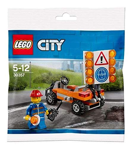 Lego City 30357 Baustellen Absicherung Polybag Neu Ovp