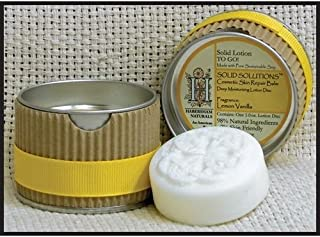 Habersham Candle Company Lemon Vanilla Solid Solutions Solid Lotion TO GO!