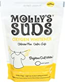 Product Image of the Molly's Suds Natural Oxygen Whitener | Natural Bleach Alternative, Plant-Derived Ingredients | Whitens Brights and Brightens Colors | Pure Lemon Essential Oil - 41.09 oz