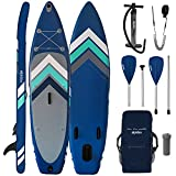 ALPIDEX Tabla Hinchable Surf Stand Up Paddle Board 305 x 76 x 15...