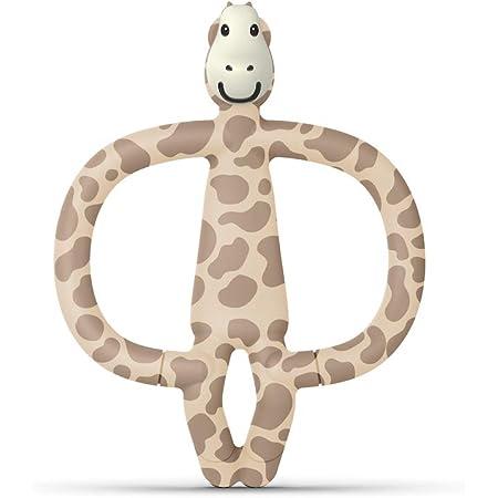 Matchstick Monkey Giraffa - Gioco per la Dentizione Antibatterico in Biocote per il Sollievo dei Neonati - 200 g