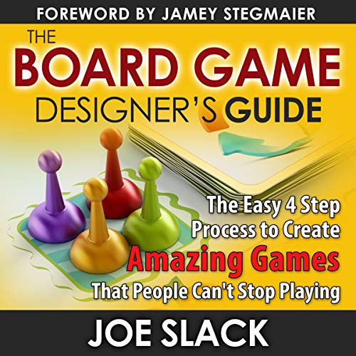 The Board Game Designer's Guide Audiobook By Joe Slack cover art